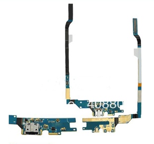 30PCS/LOT   for Samsung Galaxy S4  IV 4  I9500 charger charging port connector dock socket flex cable free shipping