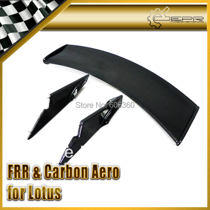 For Lotus Elise Exige S2 Carbon Rear GT Spoiler Wing Blade(China (Mainland))