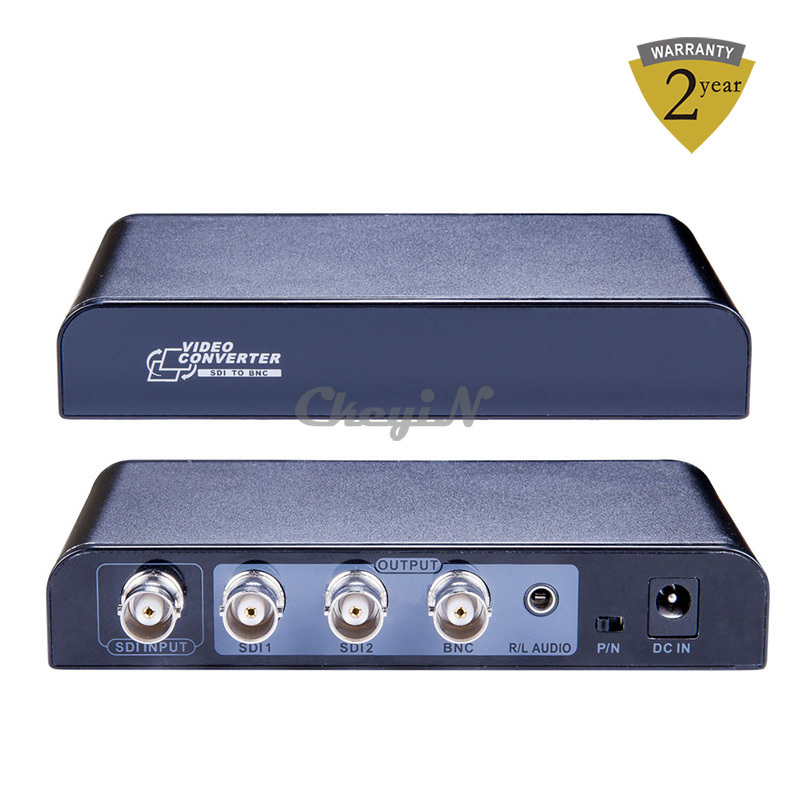 Hot Sell 3G SDI to BNC Converter SDI Signal to Analog Composite Video Signal Supports Both PAL/NTSC Output SDI Splitter HD13-S36(China (Mainland))