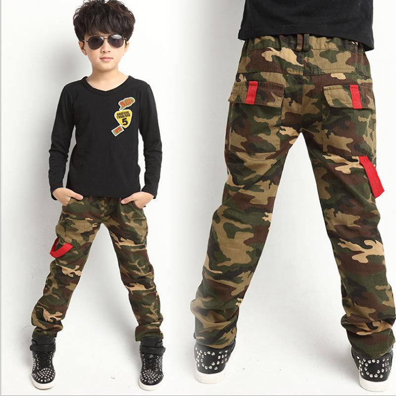 Sale New 2015 Spring Jeans For Boy Camouflage Baby Boys Jeans Pants Designer Kids Jean Children's Elastic Waist Denim Long Pants(China (Mainland))