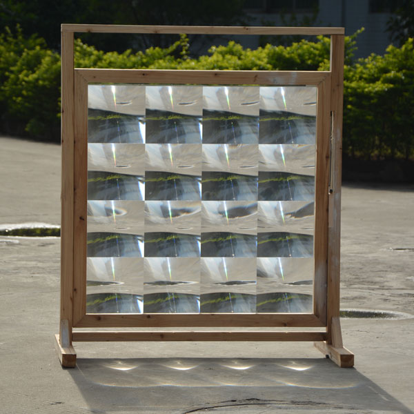 1010*1010mmF360mm SOG array fresnel lens for solar energy free shipping, Glass-silicon material Fresnel condenser lens(China (Mainland))
