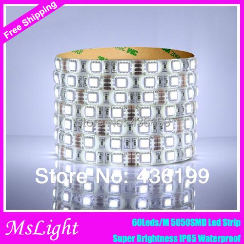 5050-RGB-LED-Strip 16.4FT SMD Led Strip Waterproof 300LEDs RGB Flexible LED Strip Light Lamp , Led tape for Wedding Decoration(China (Mainland))