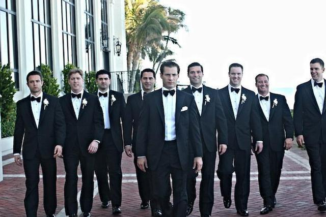Gallery For > Group Of Men In Tuxedos