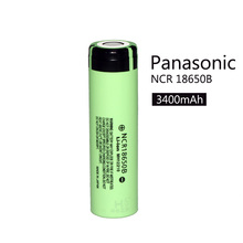 1PCS 100% New Original NCR18650B 3.7 v 3400mah 18650 Lithium Rechargeable Battery For Panasonic batteries + Free shipping