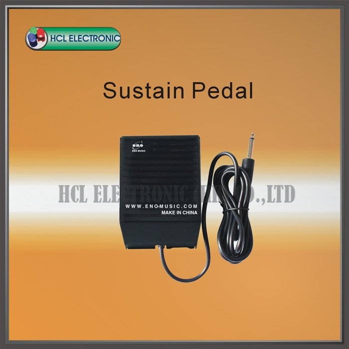 Free Shipping ENO ETB-100 Sustain Pedal For Casio Yamaha Keyboard(China (Mainland))