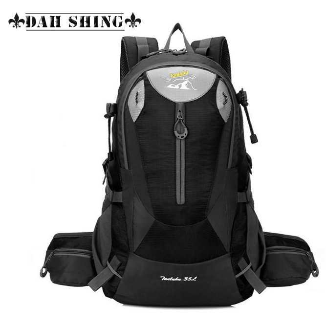 Waterproof Nylon 6 colors large capacity outdoor hiking bag camping rucksack men's travel Backpacks 15 inch Laptop - Dah Shing Fashion Co., Ltd. store