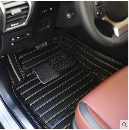 Good! Special floor mats Lexus NX(200/200t/300h) 2014 non-slip waterproof leather carpets NX 2015, - Car supplies center store