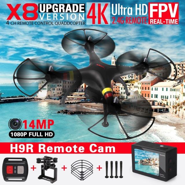 Новый Syma X8 X8C X8W FPV Quadcopter дрон с 14MP wi-fi камера HD 2.4 г 6 оси RTF дрон вертолет Fit SJ7000 камеры VS X8G квадрокоптер