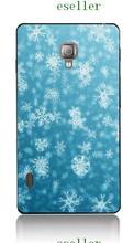retro cartoon cartoon mix style hybrid retail tiger flower fashion 20design white hard phone cases for LG L7 II P710 free ship