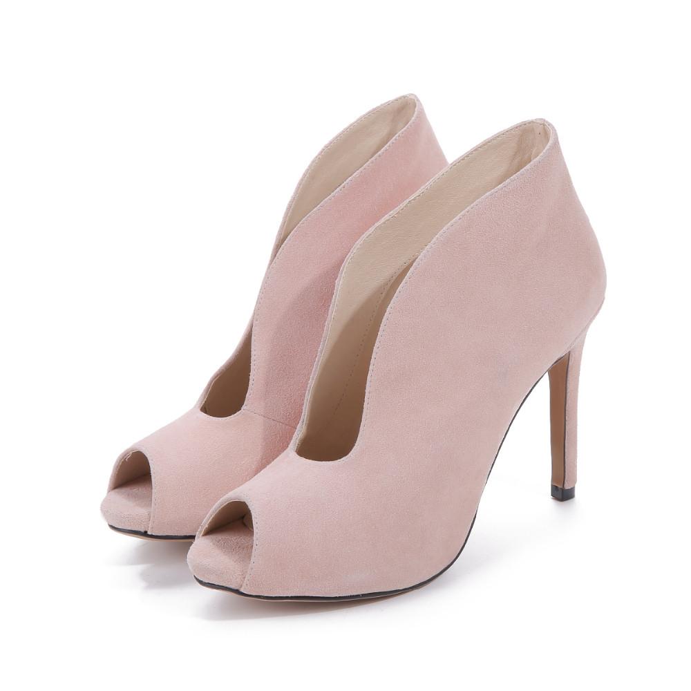 ซื้อ 2016ผู้หญิงปั๊มรองเท้าผู้หญิงรองเท้าฤดูหนาวบางส้นรองเท้าส้นสูงรองเท้าสุภาพสตรีหนังแท้รองเท้าZ Apatos Mujerพลัสขนาด