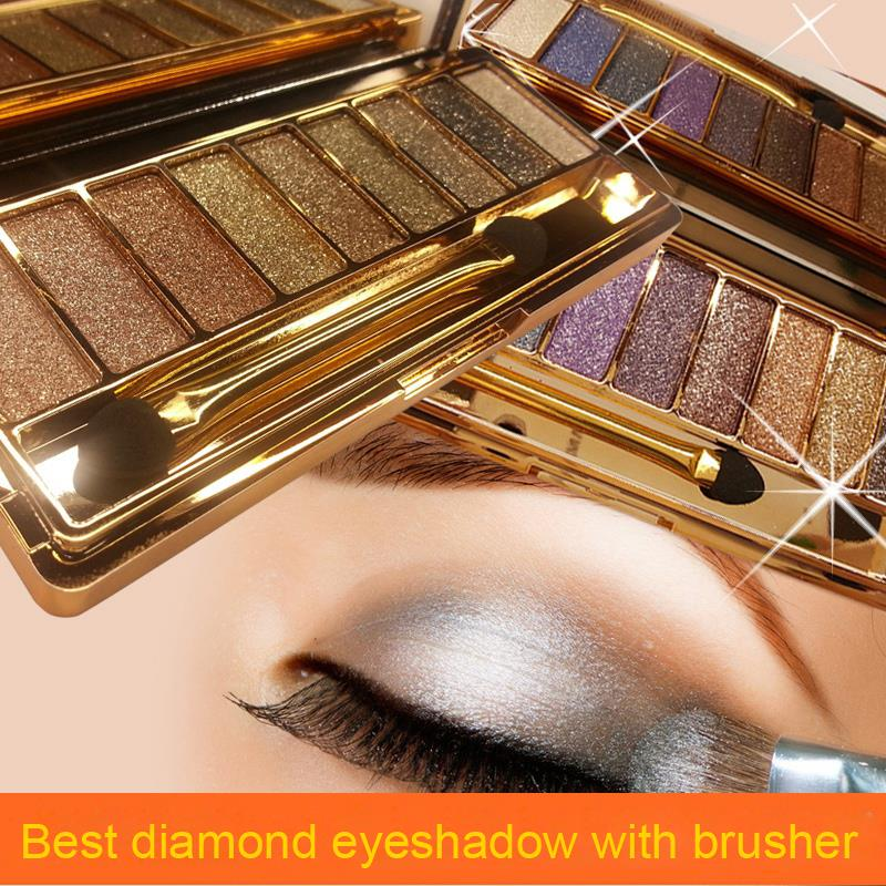 Professional 8 color and 5 color Natural Eyeshadow Matte EyeShadow Palette Brand Eye Shadow with brush Set urban Cosmetic Tools(China (Mainland))