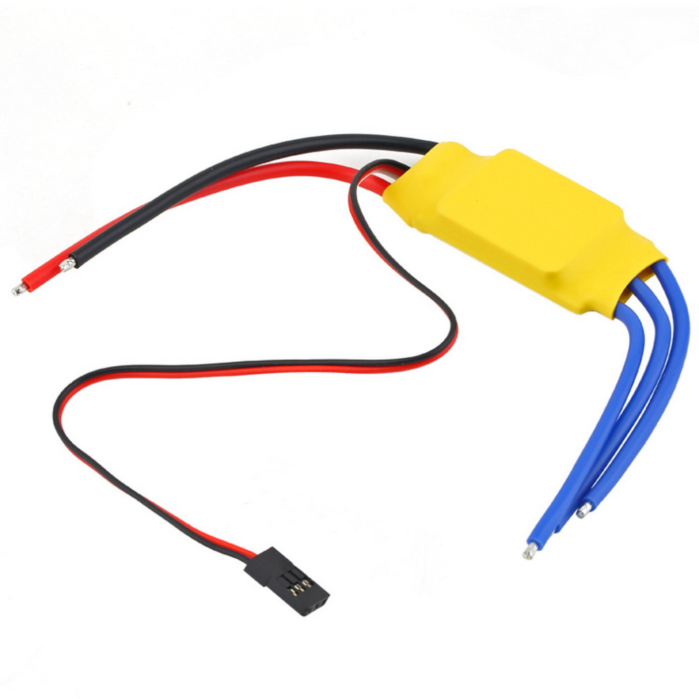 Hot Selling 1pcs RC BEC 30A ESC Brushless Motor Speed Controller free shipping--- I403(China (Mainland))