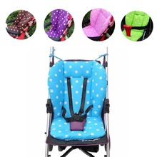Baby Infant Thick Pushchair Mat Dot Liner Cover Stroller Buggy Pram Seat Cushion(China (Mainland))