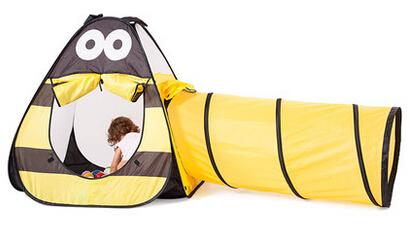 [해외]두 -에 - 하나의 파도 바다 최고의 풀 휴대용 어린이 텐트 장..