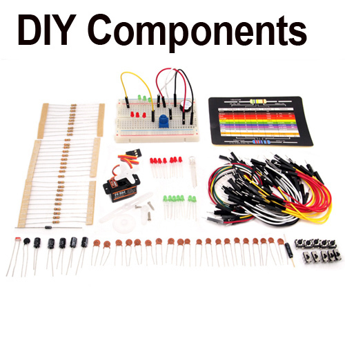 Sidekick Basic Starter Kit for Arduino Beginners DIY Electronic Components Refresher(China (Mainland))
