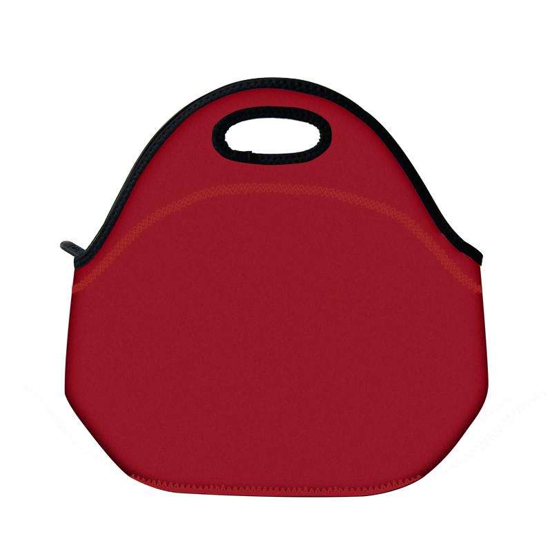 2016 New fashion style Neoprene Built lunch bag & make up bag for women multi color bag(China (Mainland))