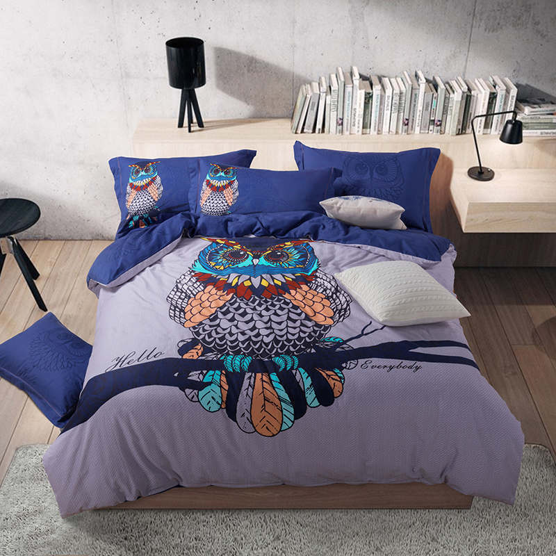 Popular harry potter bedding buy cheap harry potter for Parure de lit hibou