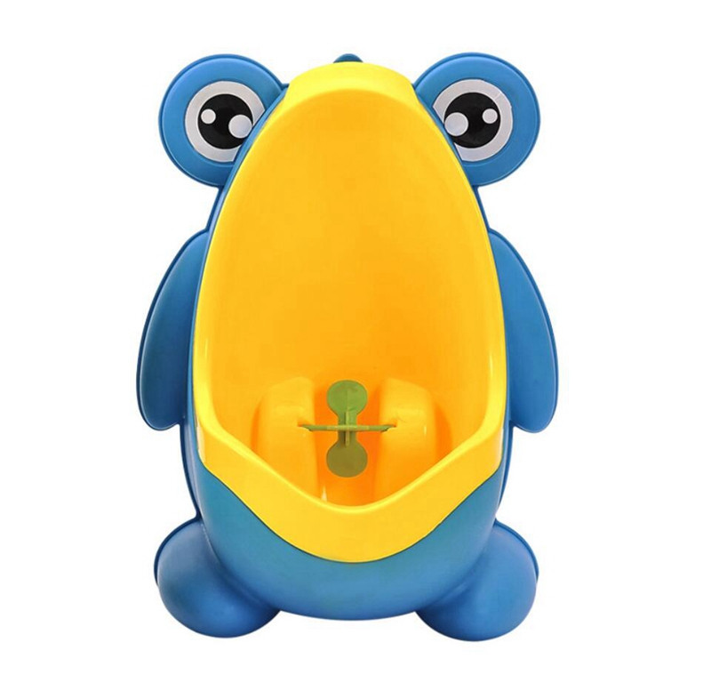 Cute Frog Baby Potty Toilet Urinals Boy Assento Sanitario Infantil Children Potty Toilet Training Kids Urinal Plastic Trainers (4)