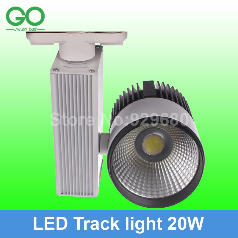 free shipping(10pcs) track lighting 20w Rail Light Spotlight 110V 220V 230V 240V cool/warm/natural white track light track lamp(China (Mainland))