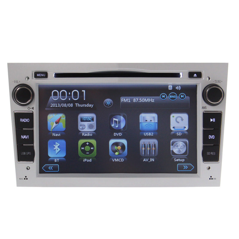 Car DVD multimedia navigation for Opel Astra Vectra Zafira with black,grey,silver 3G WIFI,BT, Radio USB SD IPOD Canbus(China (Mainland))