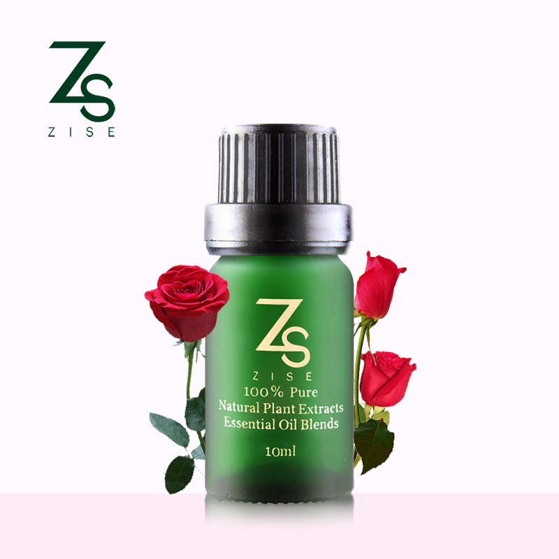 Rose essential oil + Rose Hip base oil SET Whiten skin and Fade spots Repair wrinkles and scars body Massage Oil Rose Oil ZS-503(China (Mainland))