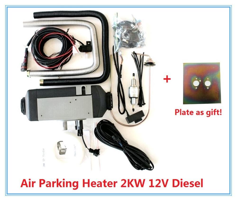 Belief Air Parking Heater 2KW 12V Diesel Similar Webasto (not Webasto) Heater For Boat Bus Truck Caravan Motor Home car heater(China (Mainland))