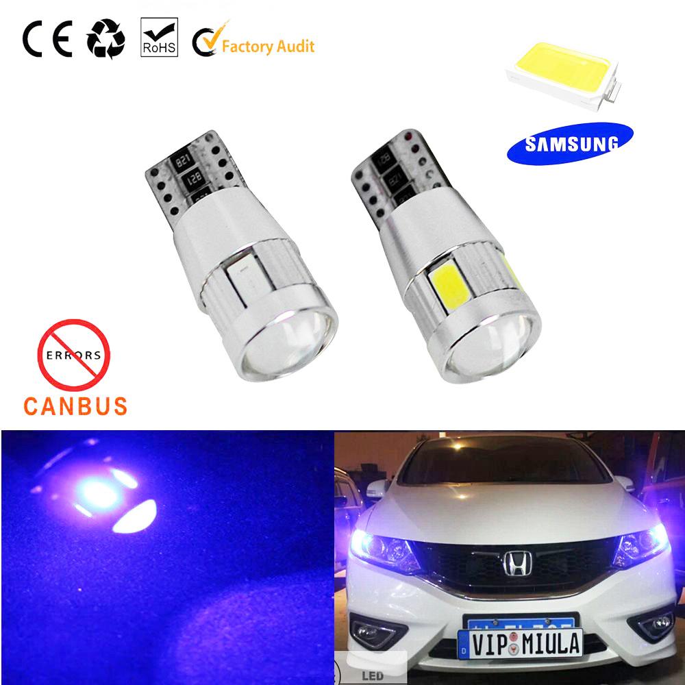1pcs Car Auto LED T10 194 W5W Canbus 6 smd 5630 cree LED Light Bulb OBC No error led light parking Bulb Lamp Free shipping(China (Mainland))