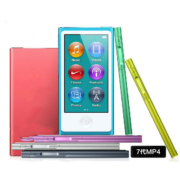 The same as the original Clone for iPod nano 7th Generation touch screen 128gb film music MP3 PLAYER A variety of language(China (Mainland))