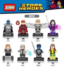 Buy elied marvel Super Heroes X-Men Apocalypse Magneto Nightcrawler Professor X Rogue bricks building blocks toys for $6.39 in AliExpress store