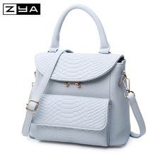 New Arrival Fresh Color Girl's Backpacks Fashion New Brand Embossed PU Leather Women's Crossbody Bag(China (Mainland))