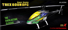 ALIGN T-REX 600N DFC 3GX RH60N01XW 50 Level oil driven helicopter (kit)(China (Mainland))