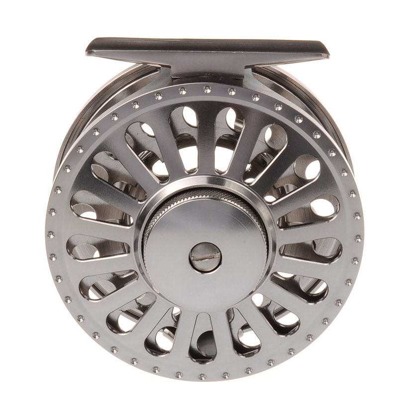 2BB+1RB 3/4 METAL fly fishing reel LARGE ARBOR designed w/ INCOMING CLICK, PRECISION MACHINED from BAR-STOCK ALUMINUM(China (Mainland))