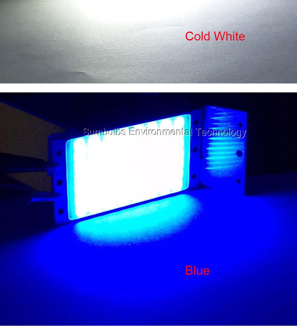 15W LED COB Strip Light Lamp Bulb dc12V warm cold white blue LED  (13)