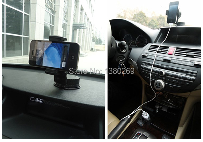 Free Shipping Multifunction Universal Cell Phone Windshield Dashboard Car Holder Suction Mount B563 Uw2(China (Mainland))