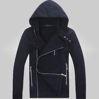 free shipping men's fashion hoodies winter dress men hoody 2015 new brand hoodie coat  T25