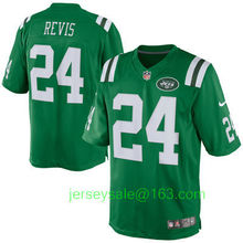 2016 Men New York Jets #15 brandon marshall #24 Darrelle Revis 87 Eric Decker Color Rush Green white(China (Mainland))
