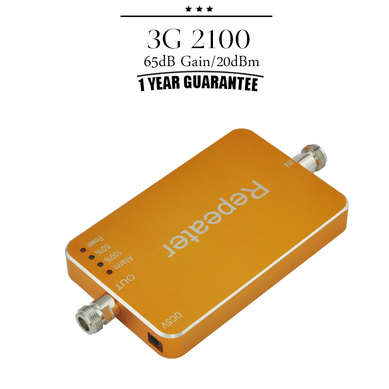 New 3G WCDMA 2100MHz Cellphone Repeater1 Year Guarantee 3G UMTS 2100 Mobile phone Signal Booster Repeater For Home(China (Mainland))