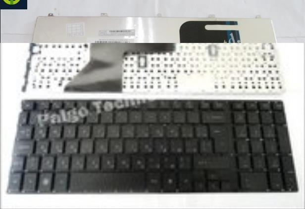Фотография Laptop Keyboard For HP Probook 4510S 4515S    Black without frame FR France SN5092 SG-33200-2FA