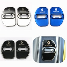 Buy GR-DL28 car covers Door lock Protection cover case Renault megane 2 scenic laguna 2 Captur fluence Latitude CLIO car styling for $3.66 in AliExpress store