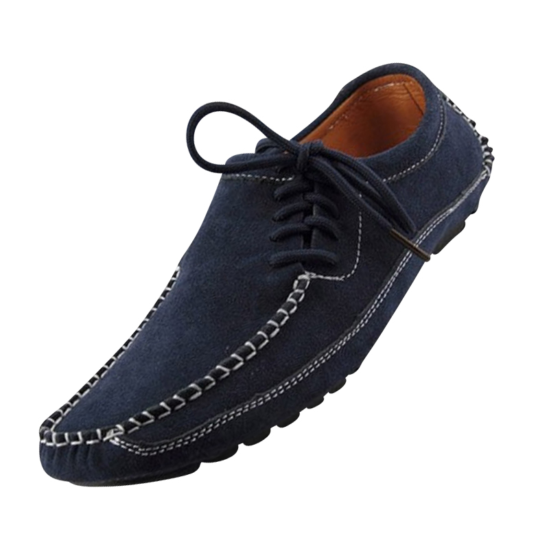 Popular Style 2015 Suede Slip-on Men Loafers Eu 39-44 Unique Design Casual Man Driving Shoes Large Size Men Boat Flats Discount<br><br>Aliexpress