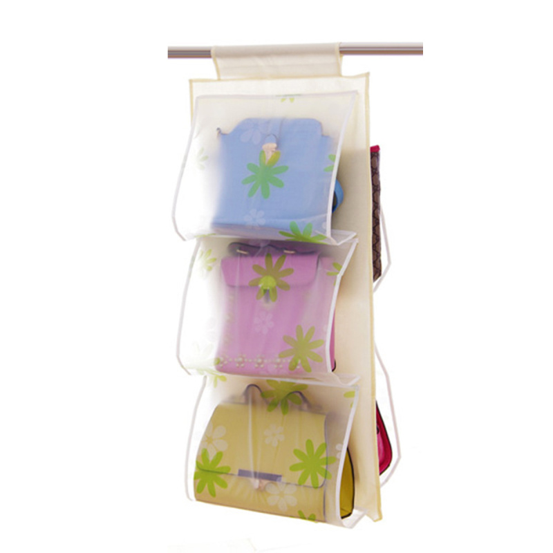 Colorful Polka Dots Pattern Pockets Over Door Hanging Bag Storage Organizer(China (Mainland))