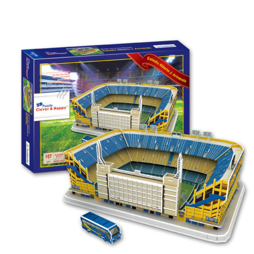3D puzzle model stadium Estadio Alberto J. Armando Club Atletico Boca Juniors Home<br><br>Aliexpress