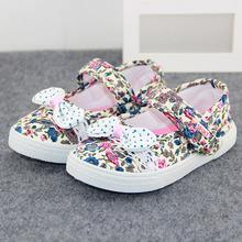 2015 Wholesale Breathable Lightweight Cotton Comfortable Floral Forst Walker Infant Toddler Baby Girls Shoes 1 12