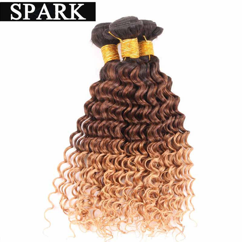 7A Brazilian Virgin Hair Deep Curly 1 Bundle Human Hair Weaves Natural Black Rosa Hair Product Cheap Bouncy Curly New Arrival