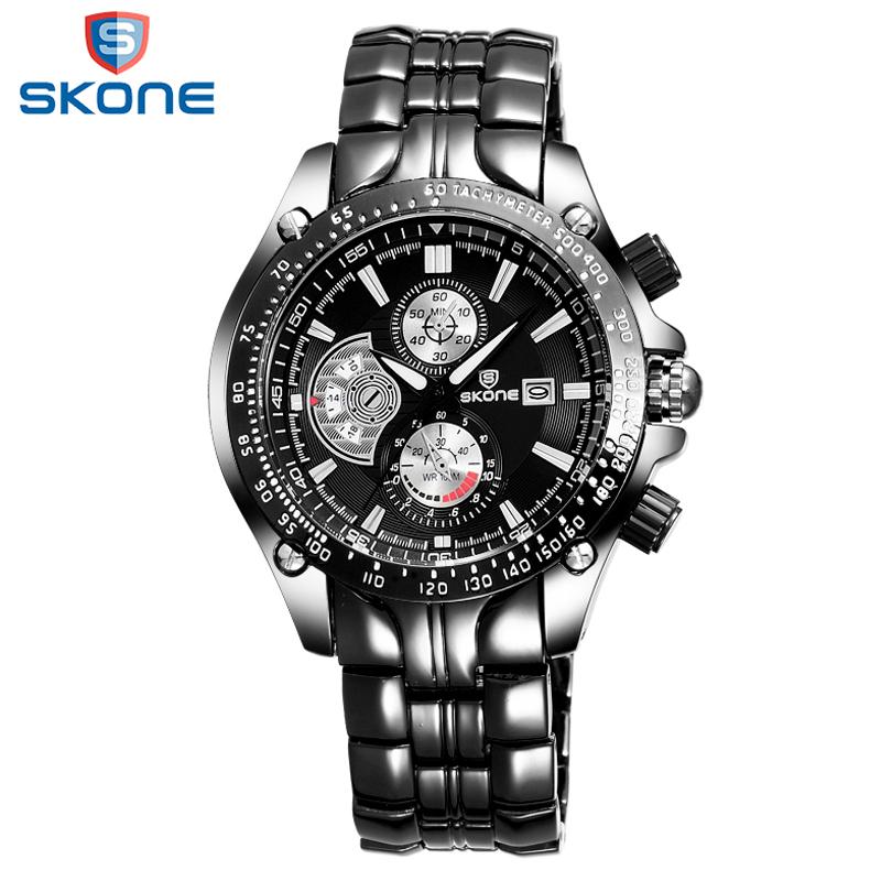 SKONE Original Business Factory Directly Sale Mens Watches Gentleman Watch To Men Outdoor Leisure Multifunction Erkek Kol Saati