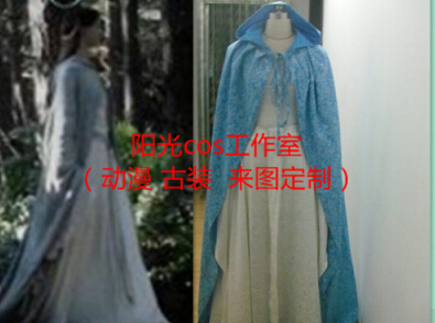 New Style Elegant The Lord of the Rings The Hobbit Lady Galadriel Cosplay Costume Fariy Dress CustomizedОдежда и ак�е��уары<br><br><br>Aliexpress
