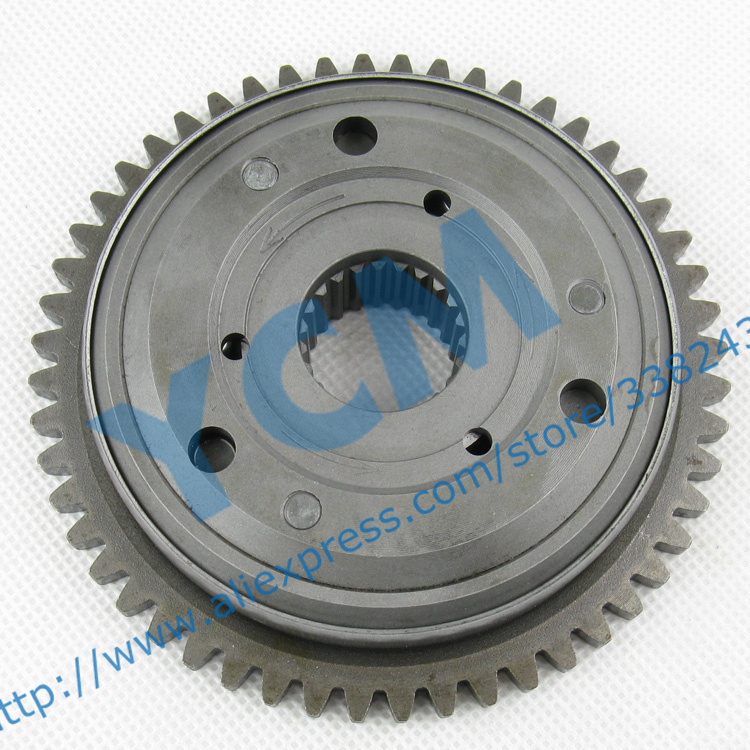 Scooter Engine Starter Gear WH125 Startup Disk Moped Clutch QDP GZ125