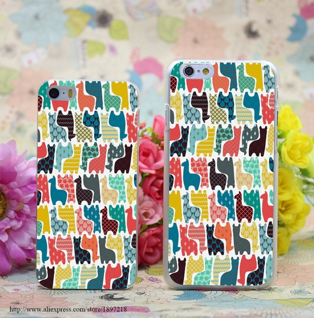 Etui Iphone 4/4S/5/5S/SE/5C/6/6S/6Plus/6SPlus Mini Llamas