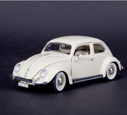 Volkswagen Beetle Cars 1:18 simulation model alloy car models vintage car factory(China (Mainland))