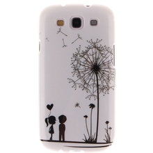 New Rubber Soft TPU Silicone Phone Back Case Cover For Samsung Galaxy S3 III i9300(China (Mainland))